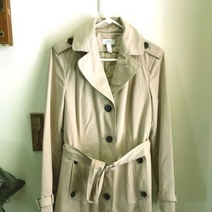 Ann Taylor Loft Trench Coat size 4